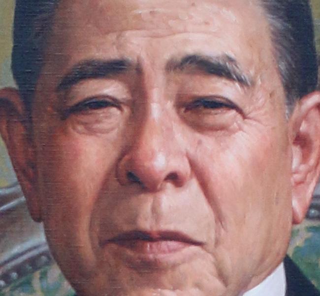 金子岩三先生之肖像|日本肖像